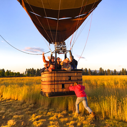 Balloon Rides-flights in Phoenix, Scottsdale and Glendale Arizona