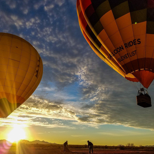 Hot Air Balloon Rides-flights in Phoenix, Scottsdale and Glendale Arizona