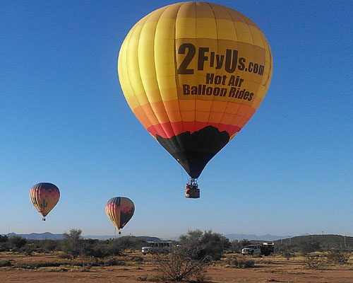 Hot Air Balloon Flights in Phoenix Arizona